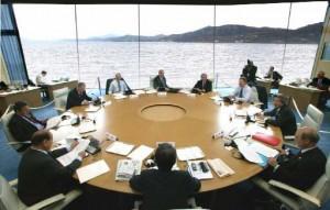 G8 La Maddalena riunione
