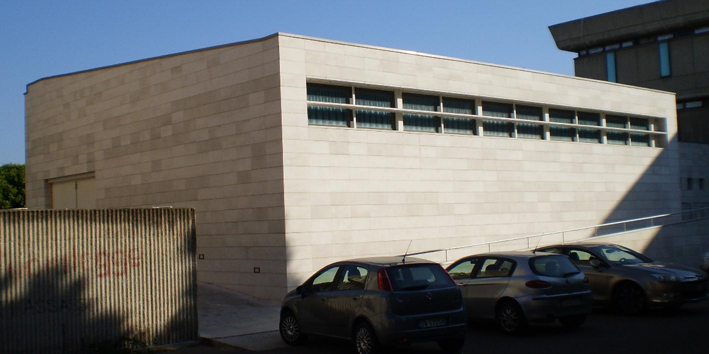 Padiglione alfa, progetto del dipartimento di Architettura dell'Università di Cagliari