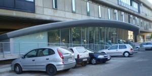 Aula Magna della facoltà di Ingegneria di Cagliari, progetto dello studio di Antonio Tramontin
