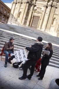 Stampaxi mob, foto di Stefano Macis