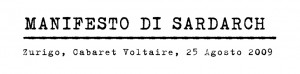 Manifesto di Sardarch