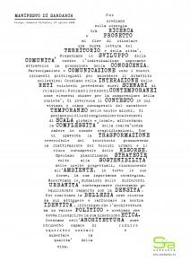 Manifesto in curve