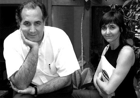 Manuel Gausa e Florence Raveau