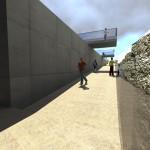 Rampa accesso - Parte finale