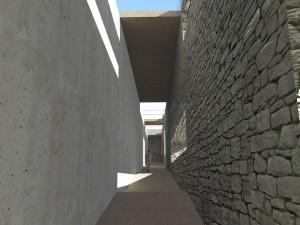 Rampa accesso - Parte iniziale