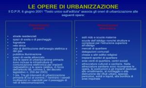 Oneri di urbanizzazione