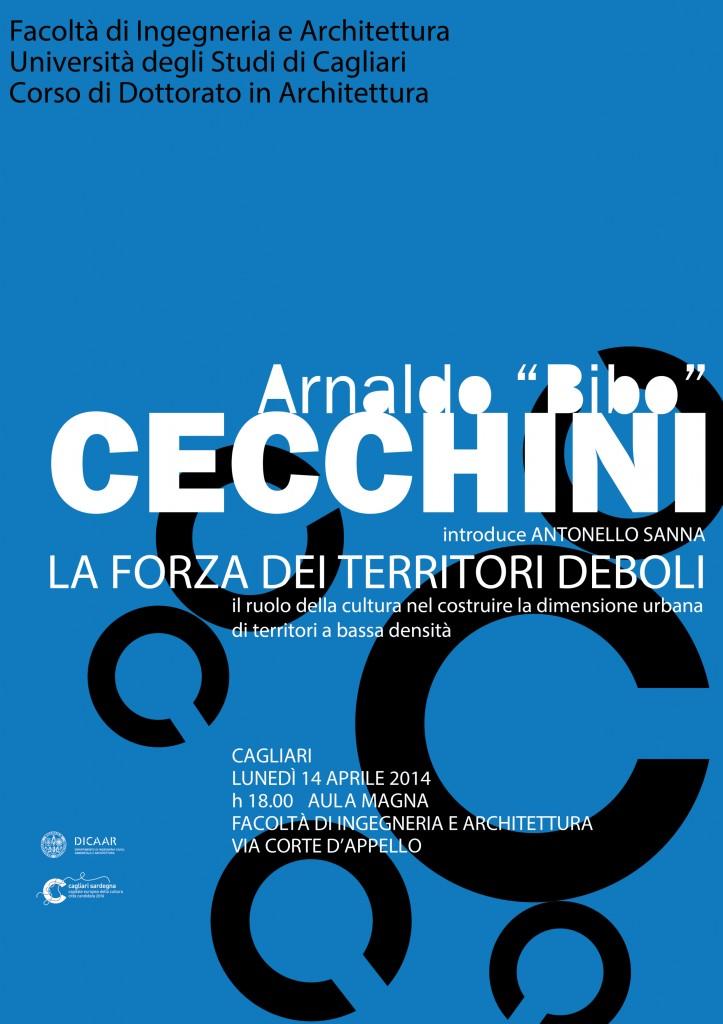 Locandina Cecchini a Cagliari