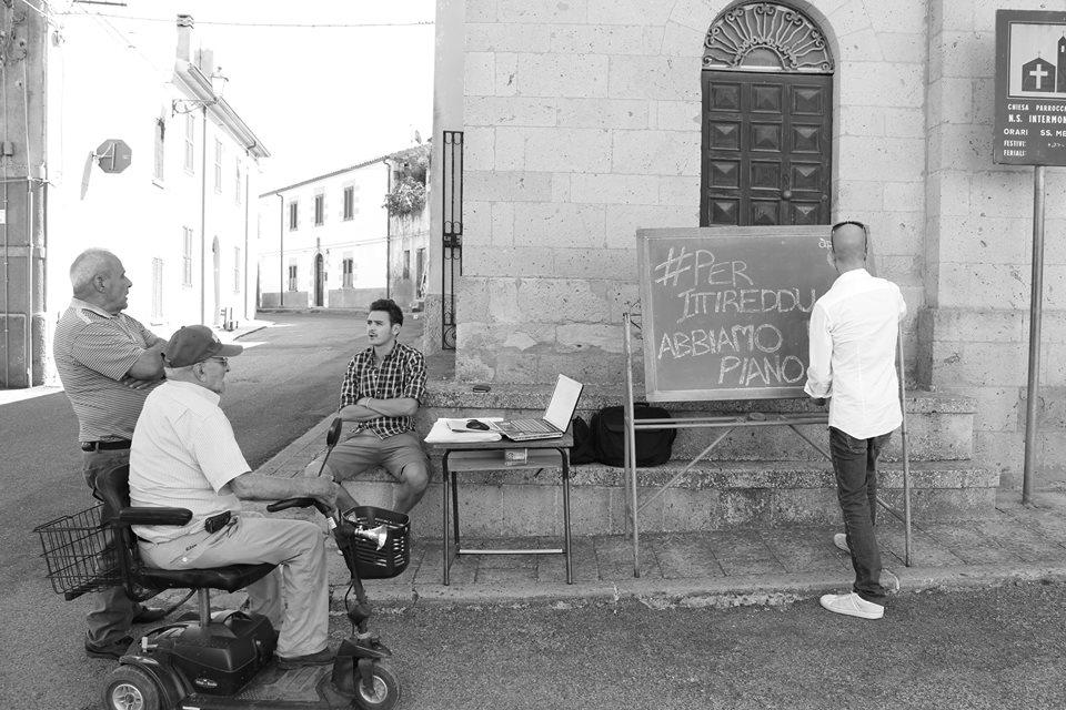 Apnea in piazza di chiesa
