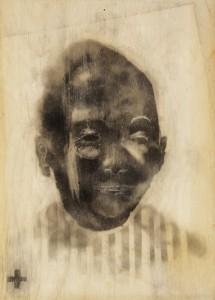 Deportato Africano_ opera realizzata con tecnica occulta – copyright Manu Invisible