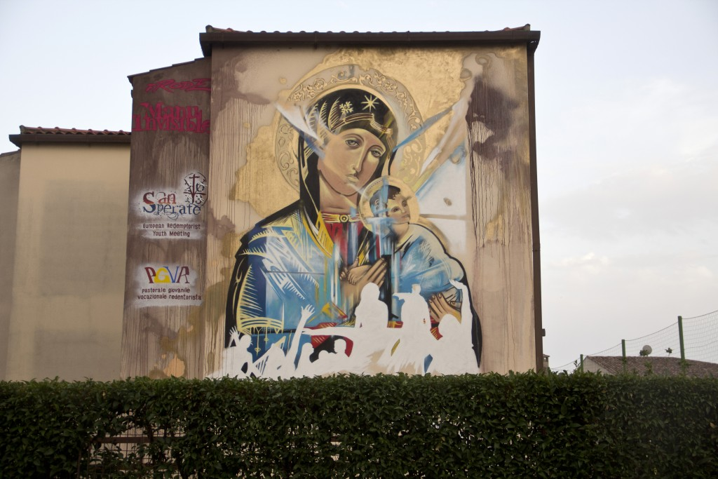 Ora Pro Nobis_ tecnica mista su muro (feat.Frode) – copyright Manu Invisible