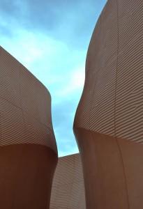 Ingresso del padiglione Emirati Arabi Uniti (foto di Lara Porcella)