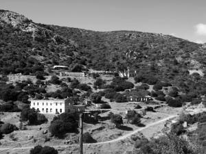 Veduta del villaggio abbandonato di Acquaresi – ottobre 2014