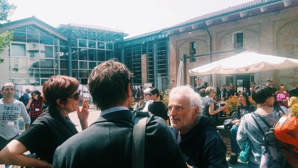 """Ilda Curti, Assessore alle Politiche per l'Integrazione della Città di Torino, a Cascina ROccafranca durante il convegno nazionale """"Abitare una Casa per abitare un Quartiere"""""""