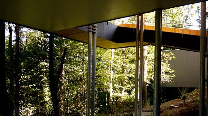 Due ville nel bosco, Venegono, Italia, 2006-2012. Con  Marco e Massimo Bigozzi