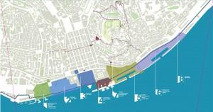 Mappa dei progetti in esecuzione a Lisbona. Fonte: Camara Municipal Lisboa