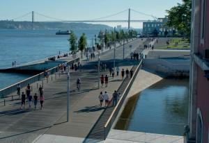 Ribeira das Naus. Fonte: Camara Municipal Lisboa